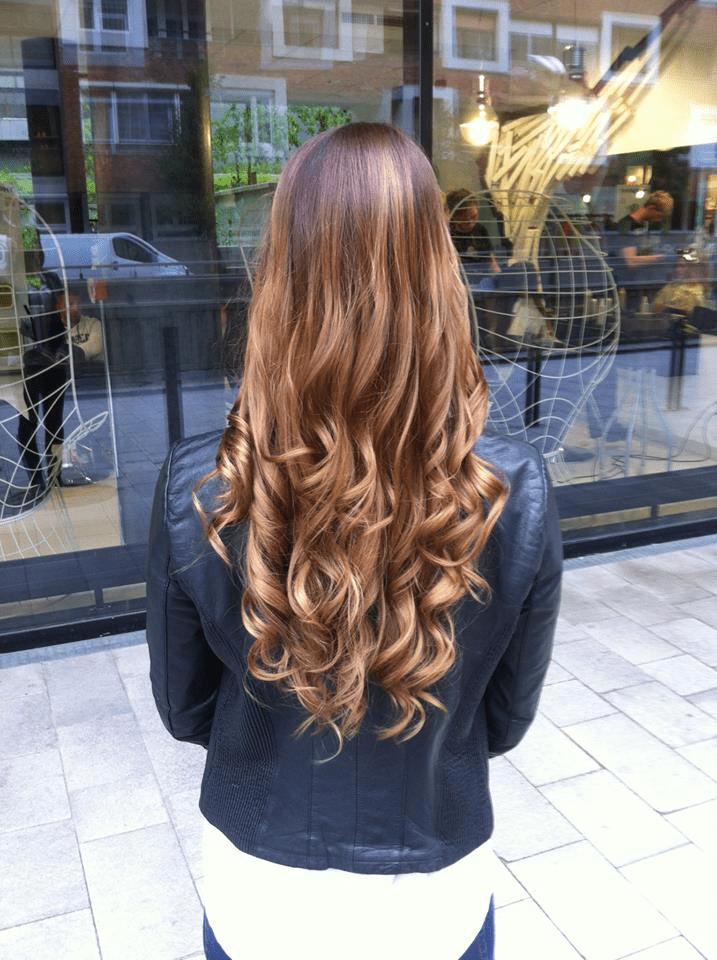 ombre festésű haj